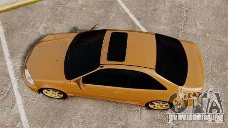 Honda Civic Si 1999 для GTA 4 вид справа
