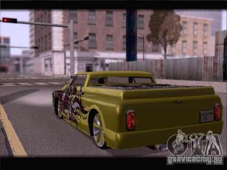 New Slamvan для GTA San Andreas вид слева
