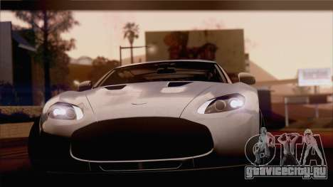 Aston Martin V12 Zagato 2012 [IVF] для GTA San Andreas