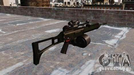 Штурмовая винтовка HK MG36 для GTA 4 второй скриншот
