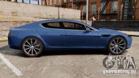 Aston Martin Rapide 2010 для GTA 4 вид слева