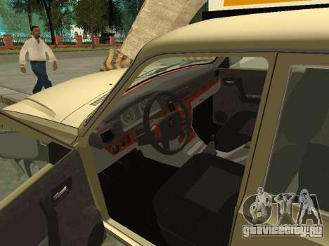 ГАЗ 31105 Волга Такси для GTA San Andreas вид сзади
