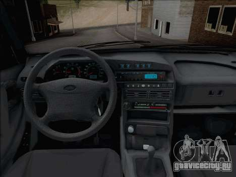 ВАЗ 2114 для GTA San Andreas вид справа