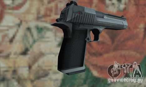 Desert Eagle серебристый для GTA San Andreas второй скриншот