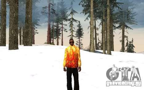 Куртка Сочи 2014 для GTA San Andreas