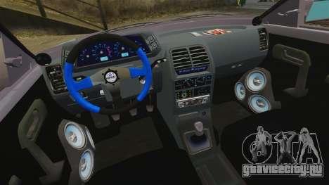 ВАЗ-2110 для GTA 4 вид сбоку