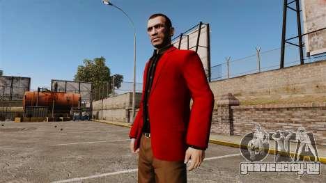 Красный пиджак для GTA 4 второй скриншот