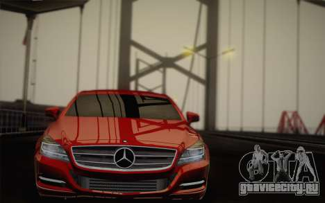 Mercedes-Benz CLS 63 AMG 2012 Fixed для GTA San Andreas салон