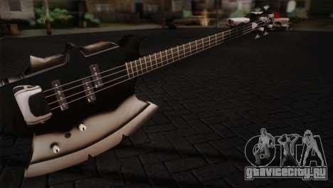 Гитара KISS для GTA San Andreas