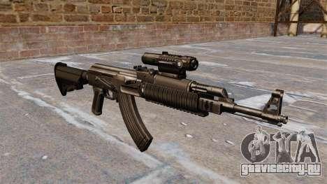 Автомат AK-47 Tactical Gear для GTA 4
