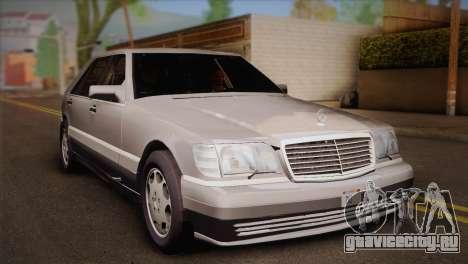 Mercedes-Benz S600 V12 Custom для GTA San Andreas