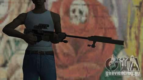 Снайперская винтовка из Timeshift для GTA San Andreas третий скриншот