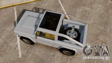 Ford Bronco Concept 2004 для GTA 4 вид справа