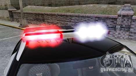 GTA V Police Elegy RH8 для GTA 4 вид сзади