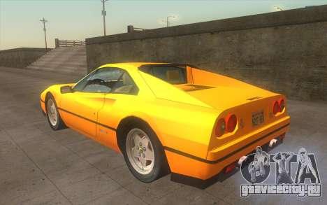 Ferrari 328 GTB для GTA San Andreas вид слева