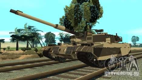 GTA V Rhino для GTA San Andreas