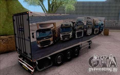 Trailer Pack для GTA San Andreas вид слева
