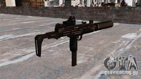 Пистолет-пулемёт Uzi Tactical для GTA 4 второй скриншот