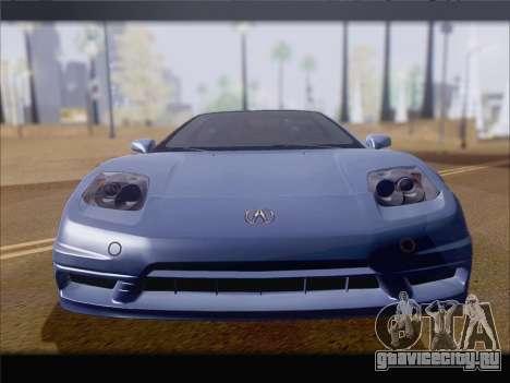 Acura NSX для GTA San Andreas вид сбоку