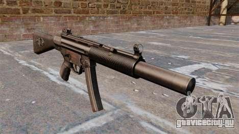 Пистолет-пулемёт HK MP5A5 для GTA 4