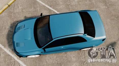 Subaru Impreza HD Arif Turkyilmaz для GTA 4 вид справа