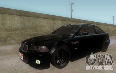 BMW M3 e46 Duocolor Edit для GTA San Andreas