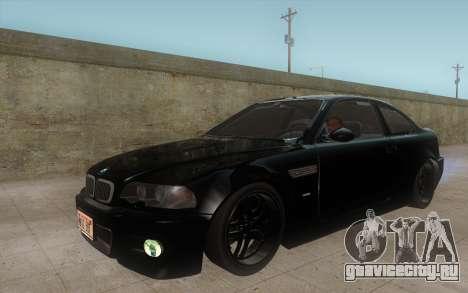 BMW M3 e46 Duocolor Edit для GTA San Andreas