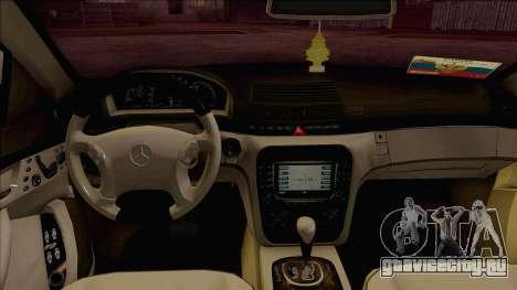 Mercedes-Benz W220 S500 4matic для GTA San Andreas вид справа