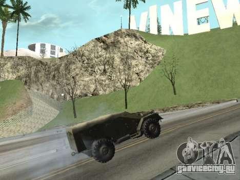 БТР-40 для GTA San Andreas вид справа