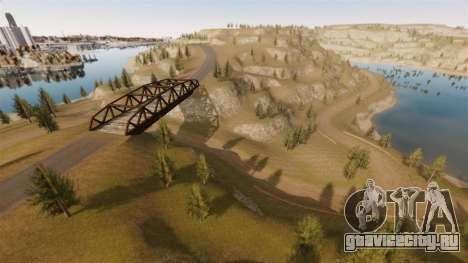 Локация Cliffside Rally для GTA 4 десятый скриншот