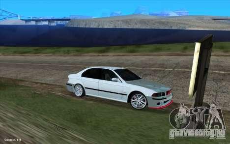BMW M5 E39 для GTA San Andreas вид справа