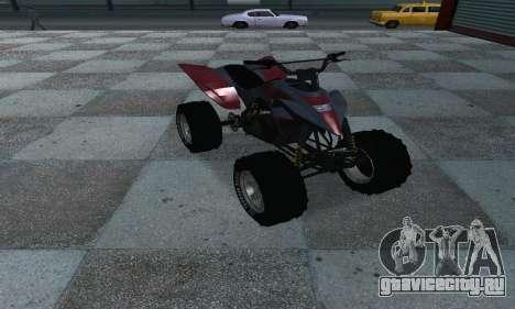 GTA 5 Blazer ATV для GTA San Andreas вид справа
