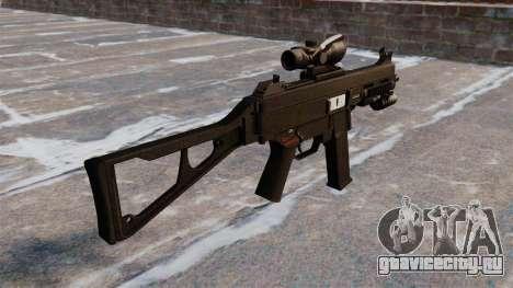 Пистолет-пулемёт UMP45 для GTA 4 второй скриншот