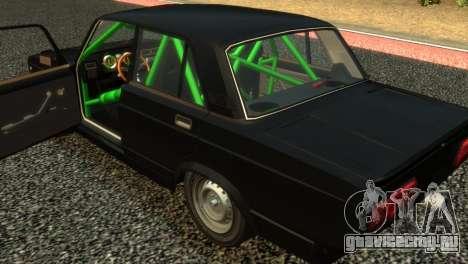 ВАЗ 2105 для GTA 4 вид сзади
