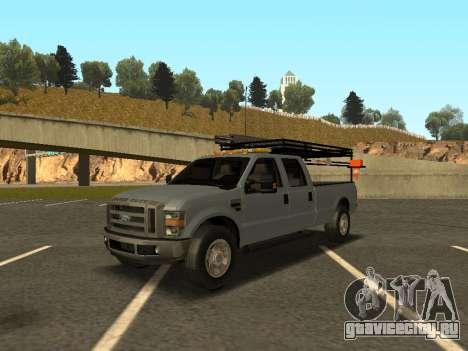 Ford F-350 для GTA San Andreas вид слева