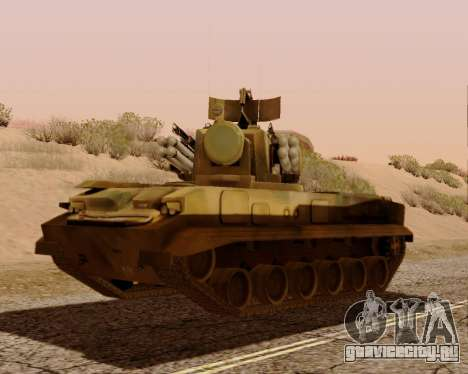 2С6 Тунгуска для GTA San Andreas вид слева