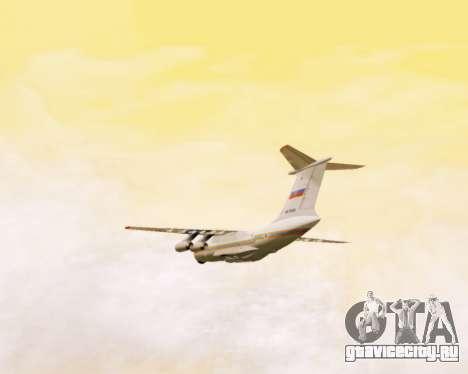 Ил-76ТД МЧС России для GTA San Andreas вид сбоку