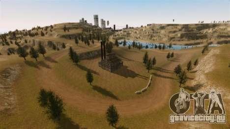 Локация Cliffside Rally для GTA 4 второй скриншот