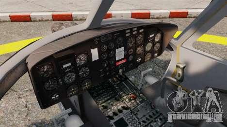 Bell UH-1 Iroquois v2.0 Gunship [EPM] для GTA 4 вид сзади