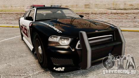 GTA V Bravado Buffalo Supercharged LCPD для GTA 4