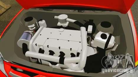 Toyota Hilux London Fire Brigade [ELS] для GTA 4 вид изнутри