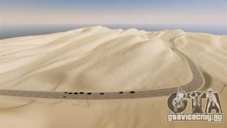 Локация Desert Highway для GTA 4 второй скриншот