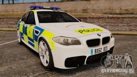 BMW M5 Marked Police [ELS] для GTA 4