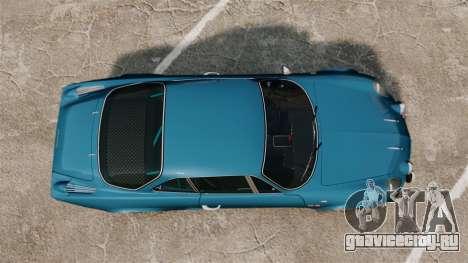 Renault Alpine A110 1600 S для GTA 4 вид справа