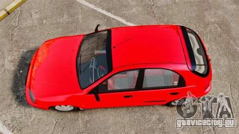 FSO Lanos Plus 2007 Limited Version для GTA 4 вид справа