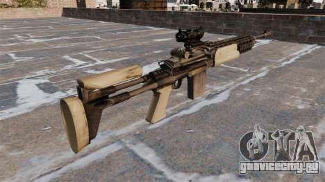 Автоматическая винтовка Mk 14 Mod 0 EBR для GTA 4 второй скриншот