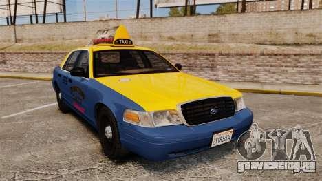 Ford Crown Victoria 1999 GTA V Taxi для GTA 4