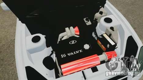 ВАЗ-2170 Lada Priora Turbo для GTA 4 вид изнутри