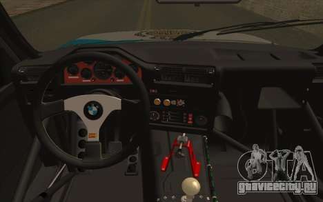 BMW M3 E30 Racing Version для GTA San Andreas вид справа