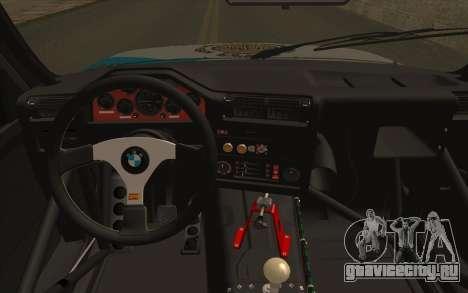 BMW M3 E30 Racing Version для GTA San Andreas вид справа